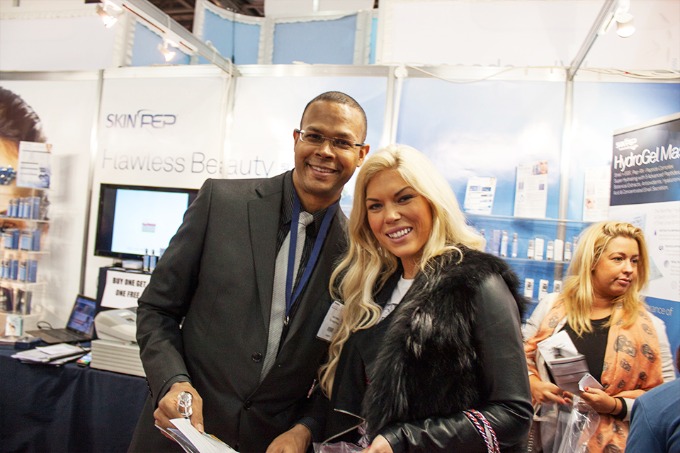 Professional Beauty Show 2013, Excel London 1